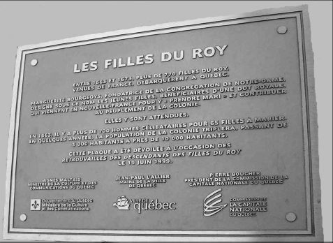 Plaque place Royale